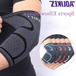 1 Pair Elbow Sleeves Brace Support Compression Powerlifting