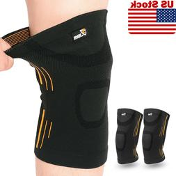 1 PAIR Knee Compression Sleeves for Arthritis Joint Pain Rel