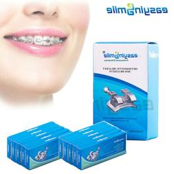 10packs of orthodontic brackets mini teeth braces