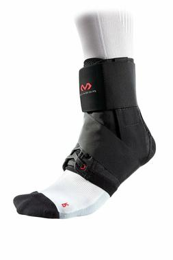 MCDAVID 195 Ankle Brace With Straps, Level 3, Small, Black