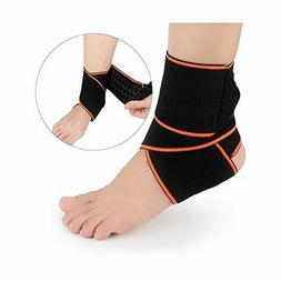 1Pcs Ankle Braces Support Breathable Adjustable Nylon for Sp