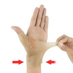 1x Men's Pain Relief Magnetic Thumb Brace Injured Protector