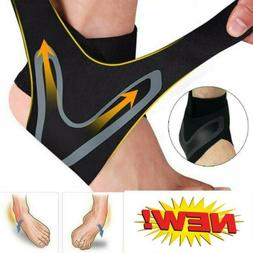 2 Ankle Brace Support Compression Sleeve Plantar Fasciitis P