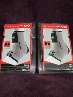 2 McDavid Ankle Braces Level 3 Grey And Black