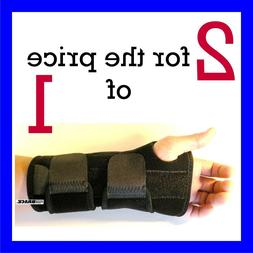 2 FDA APPROVED Wrist Hand Brace Carpal Tunnel Support Splint