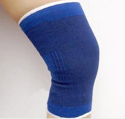 2 Knee Support Wrap Brace Sleeve Elastic Muscle Arthritis Sp