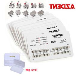 USA Stock AZDENT 50 Packs Dental Orthodontic Brackets Mini R