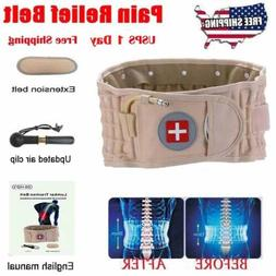 2018 Latest Dr Ho's Decompression Belt Back Brace Lumbar Sup