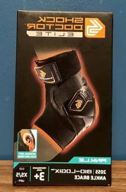Shock Doctor 2055 Elite Bio-Logix Ankle Brace, Left XS/S Per