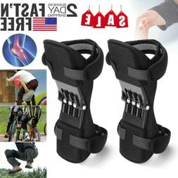 2Pcs Knee Pads Booster Joint Support Brace Lift Squat Sport