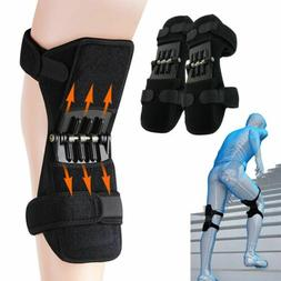 2pcs Leg Power Knee Stabilizer Pads Patella Booster Spring K
