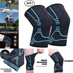 2x Arm Elbow Support Brace Compression Sleeve For Women Men