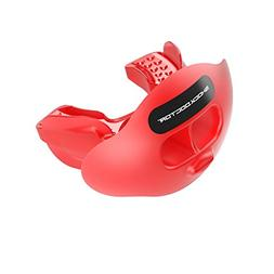 Shock Doctor 3300 Max Airflow Football Mouth Guard with Teth