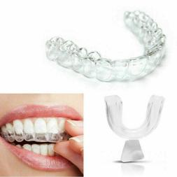 4x Silicone Night Mouth Guard for Bruxism teeth Protector Gr