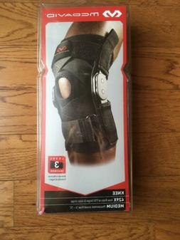 429x hinged knee brace with cross straps