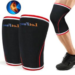 5mm Elbow 7mm Knee Sleeve Support Brace Cross Fit Neoprene P