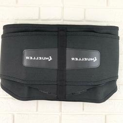 Mueller Lumbar Support Back Brace with Removable Pad, Black,
