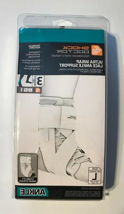 Shock Doctor 851 Ultra Wrap Laced Ankle BraceSupport