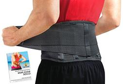 Back Brace by Sparthos - Immediate Relief for Back Pain, Her