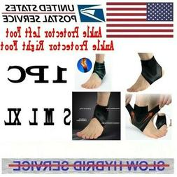 Adjustable Ankle Support Brace Foot Sprains Injury Pain Wrap