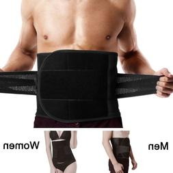 Adjustable Lumbar Back Support Belt Lower Pain Relief Double