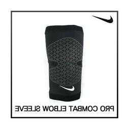 Nike Adult Pro Combat Elbow Sleeve Support Brace Color Black