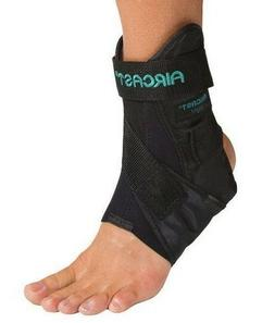 AIRCAST AIRSPORT ANKLE SUPPORT BRACE by DONJOY BLACK 02M NIB