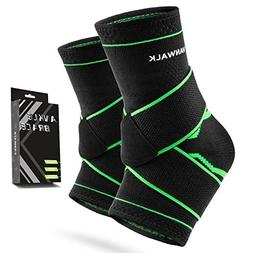Ankle Brace with VANWALK Active 2 Ankle Support Braces - Com
