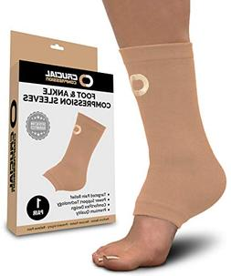 Ankle Brace Compression Sleeve for Men & Women  - Best Ankle
