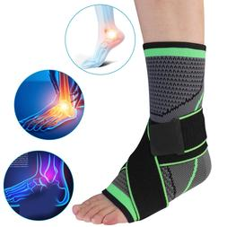 Ankle Brace Support Compression Sleeve Wrap Foot Plantar Fas