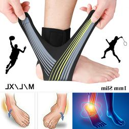 Ankle Brace Support Plantar Fasciitis Pain Relief Compressio