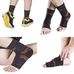 ROTERDON Ankle Braces Compression Support Sleeve For Injury