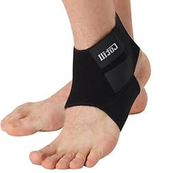 ankle support for men and women - neoprene breathable adjust