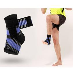 ankle support brace foot tight strap guard