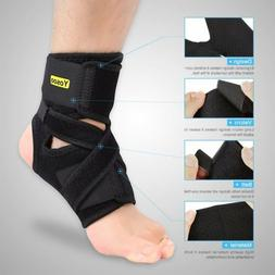 ankle support brace wrap plantar fasciitis breathable