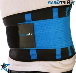 Back Brace for Men and Women by RiptGear - Back Pain Relief