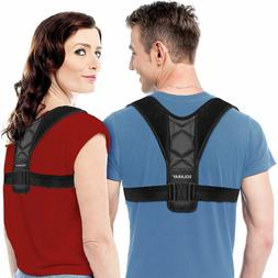 Back Posture Support Corrector Adjustable Brace Therapy Men