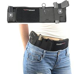 Belly Band Gun Holster Concealed Carry Weapon Protection Saf