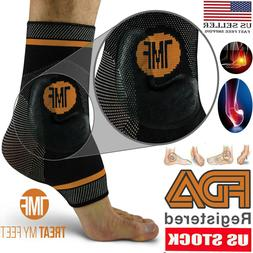 Plantar Fasciitis Compression Ankle Brace Support Foot Pain