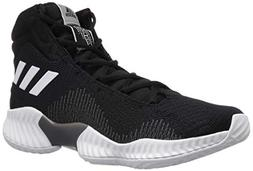 adidas Men's Pro Bounce 2018 Basketball Shoe, Black/White/Gr