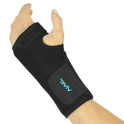 Vive Wrist Brace - Carpal Tunnel Hand Compression Support Wr