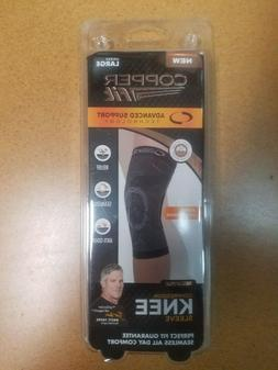 BRAND NEW COPPER FIT ADVANCED SUPPORT KNEE SLEEVE BRACE UNIS