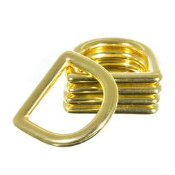 Brass D-Ring – 1 Inch  – Great for Crafting, DIY Project