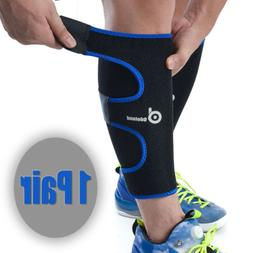 calf brace sleeve support shin