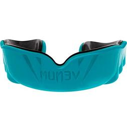 Venum Challenger Mouth Guard, Black/Cyan, One Size