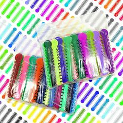colored ortho dental ligature rubber ties bands