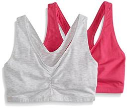 Hanes ComfortFlex Fit Cotton Pullover Bra 2-Pack, Style H570