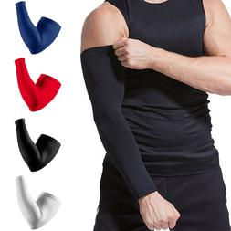 Compression Elbow Support Thigh Arm Sleeve Brace Anti Sun UV