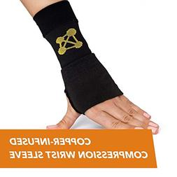 OpenBox CopperJoint Copper Wrist Support, #1 Compression Sle