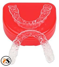 Custom Essix Plus Super Clear Dental Retainers Upper and Low